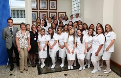 Sétima turma do curso técnico de enfermagem formou 32 alunos
